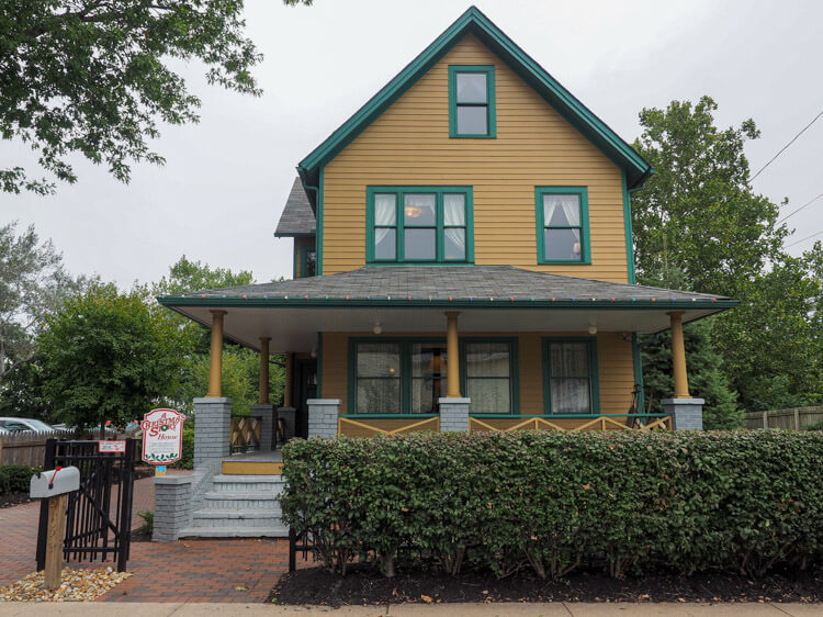 A Christmas Story House as a top Cleveland Winter Activity