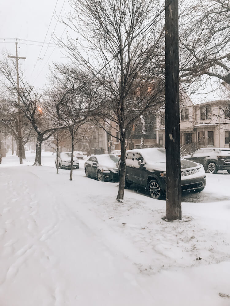 Cleveland in Winter Weather