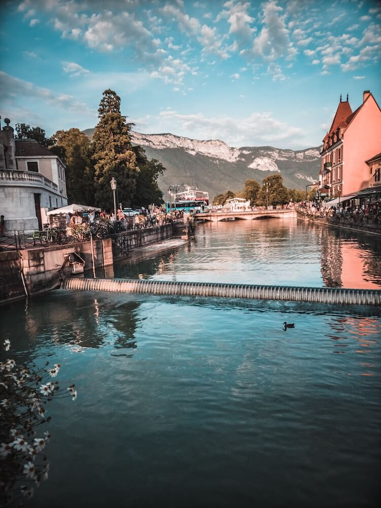 Exploring the canals of Annecy, France