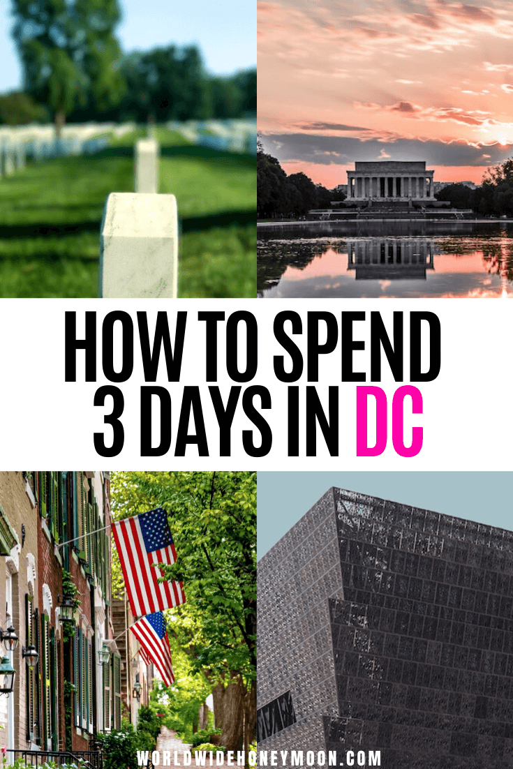How to Spend the Perfect 3 Days in DC | 3 Days in Washington DC Itinerary | 3 Days in Washington DC Travel Guide | Washington DC Things to do in 3 Days | Things to do in Washington DC | Washington DC Itinerary | Washington DC Itinerary First Time | Washington DC 3 Day Itinerary | Washington DC Travel Guide | Washington DC Travel Tips | Washington DC Travel Outfit | Washington DC First Time | First Time in DC | First Time in Washington DC #washingtondc #dctravel #usatravel #couplestravel