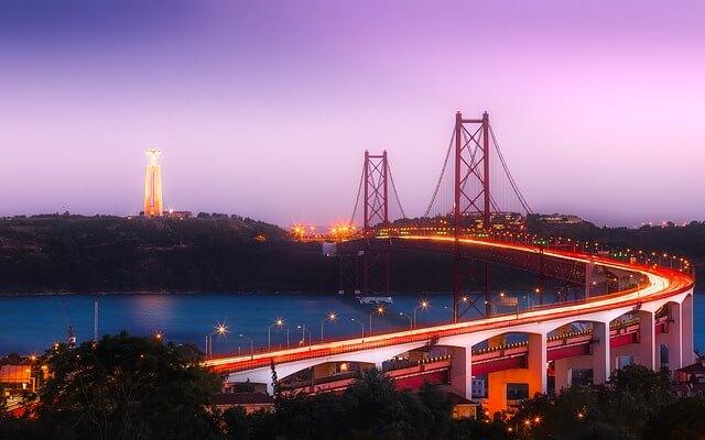 Lisbon at night- 2 days in Lisbon