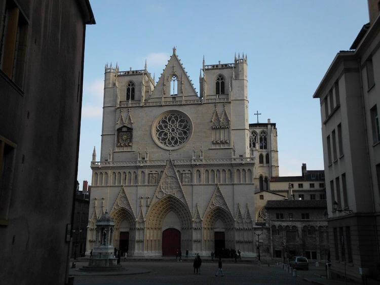 Lyon Cathedral in France