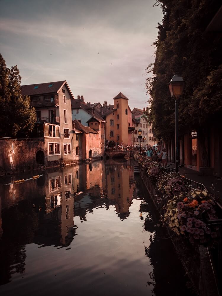 Morning in Annecy, France