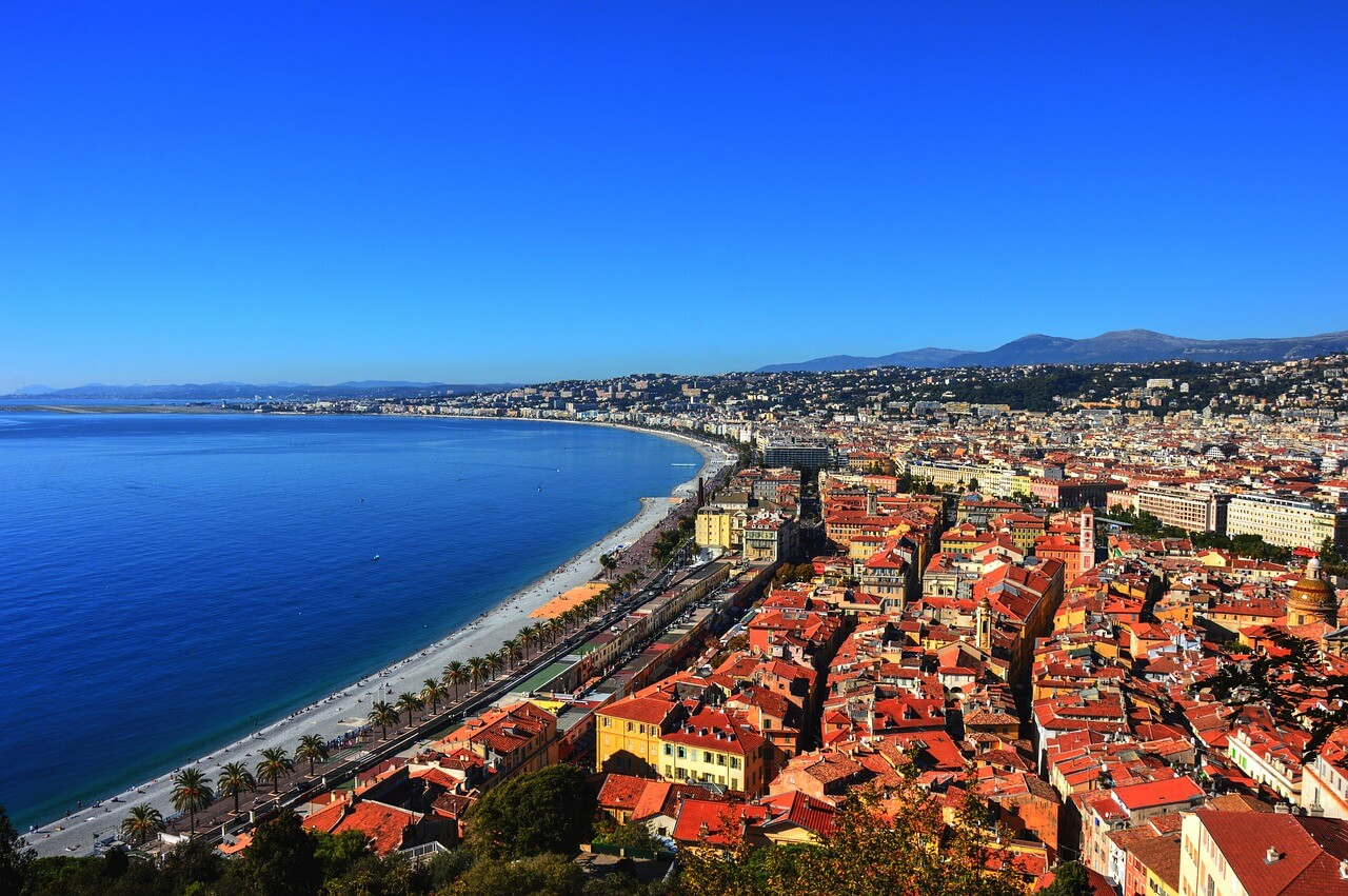 Nice, France during the day
