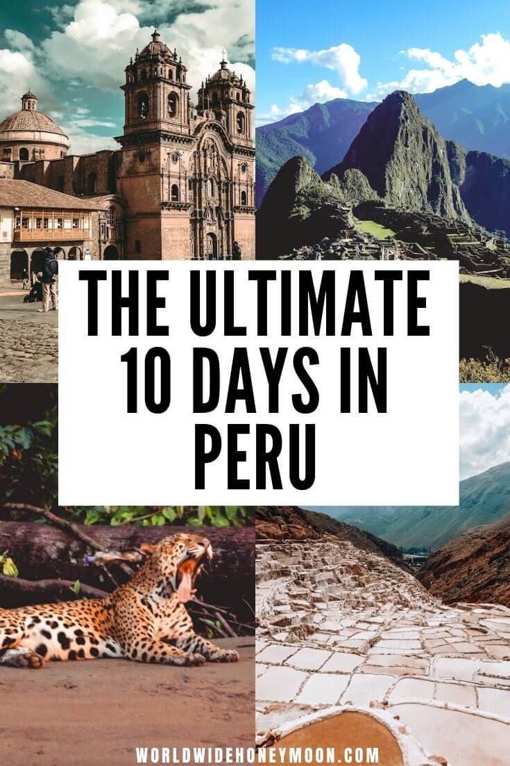 Peru Itinerary | Peru Travel Inspiration | Things to do in Peru | Peru Photography | Travel to Peru | Peru Travel Tips | Rainbow Mountain Peru | Lima Peru | Machu Picchu Peru | Cusco Peru #peru #perutravel #peruitinerary #machupicchu