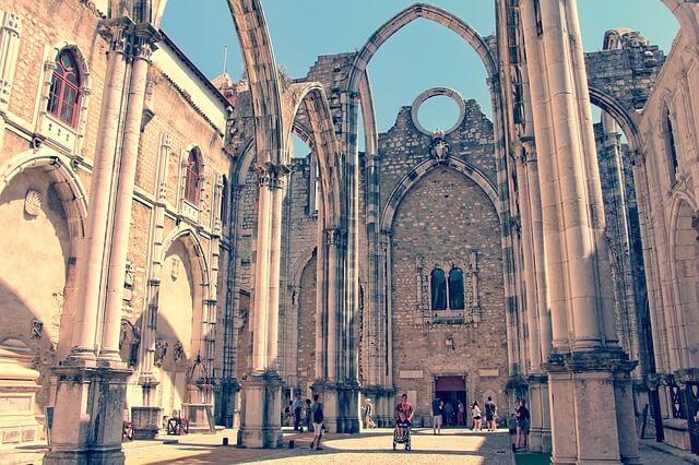Ruins in Lisbon