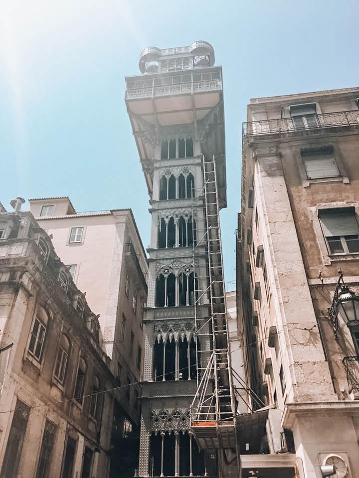 Santa Justa Lift- Things to do in Lisbon