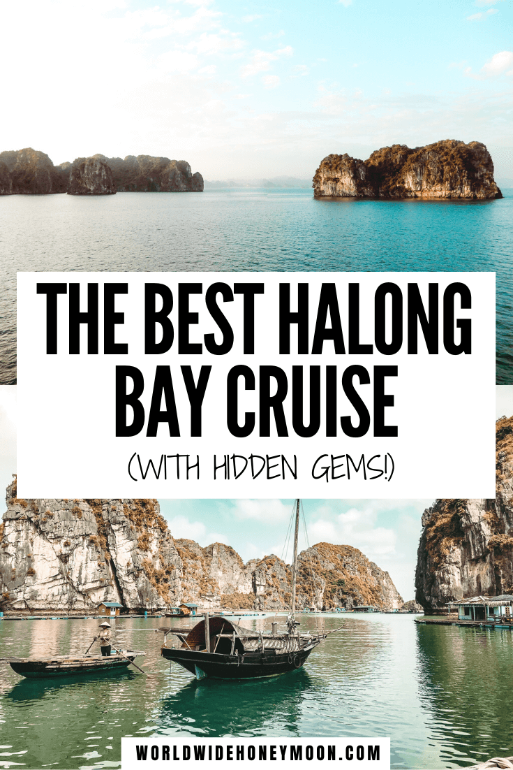 This is the best Halong Bay Cruise | What to do in Halong Bay, Vietnam | Halong Bay Cruise Luxury | Halong Bay Vietnam Photography | Halong Bay Cruises | Halong Bay Cruise Tips | Halong Bay Cruise Boats | Bai Tu Long Bay Cruise Vietnam #baitulongbay #halongbay #halongbaycruise #cruisetrips
