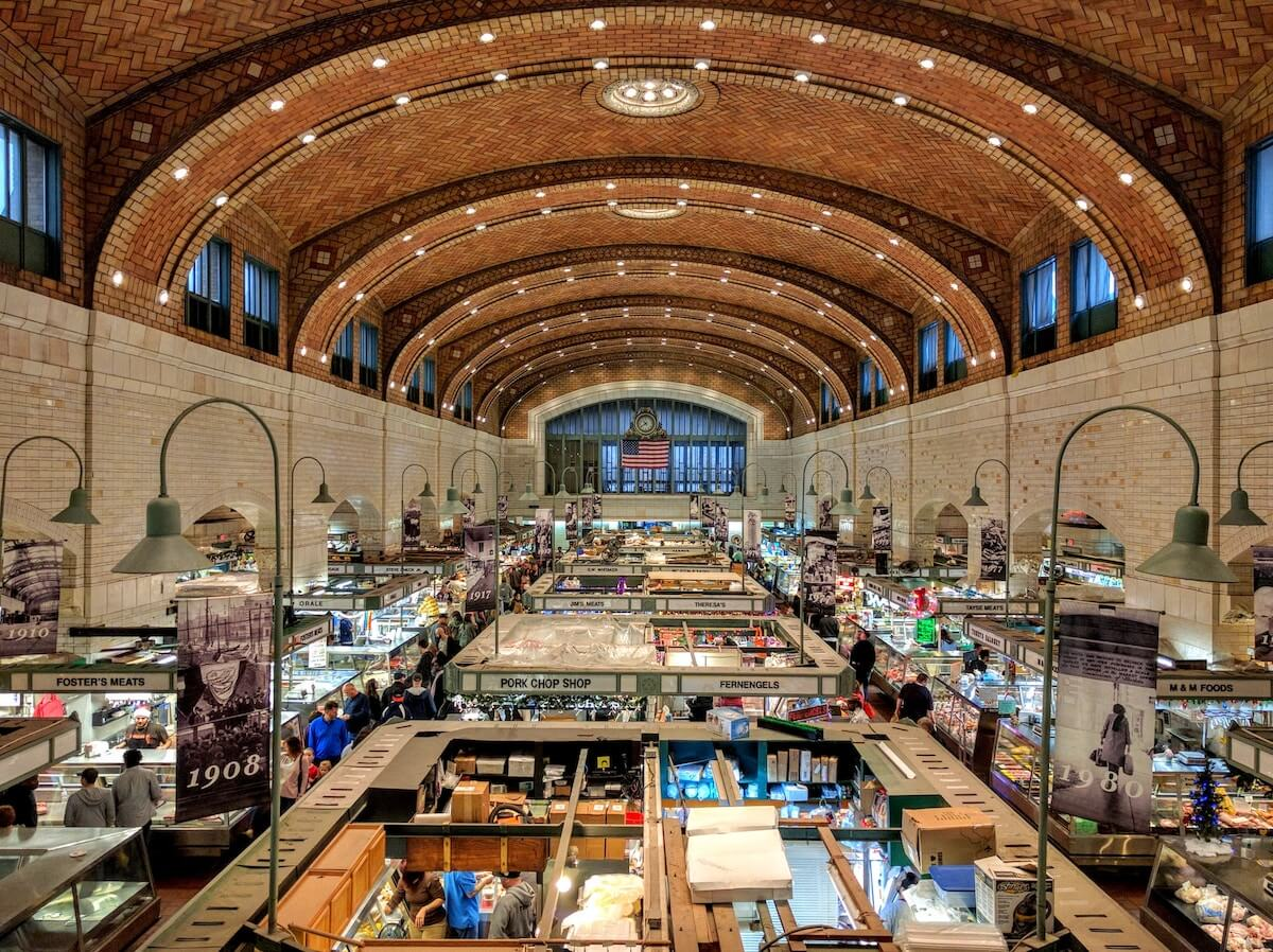 West Side Market in Cleveland - Things to do in Cleveland in Winter