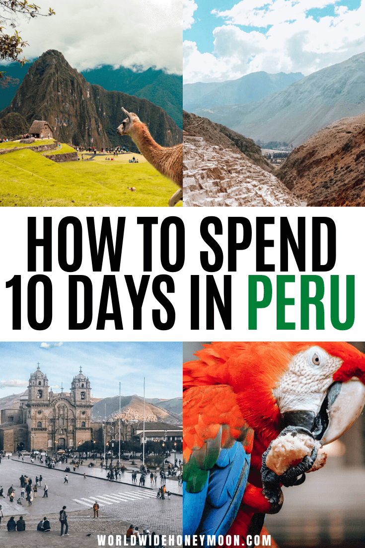 This is the perfect way to do Peru in 10 Days | Peru Itinerary 10 Days | 10 Days in Peru Packing | 10 Days in Peru Itinerary | Peru Travel Inspiration | Things to do in Peru | Peru Photography | Travel to Peru | Peru Travel Tips | Rainbow Mountain Peru | Lima Peru | Machu Picchu Peru | Cusco Peru #peru #perutravel #machupicchu #peruphotography