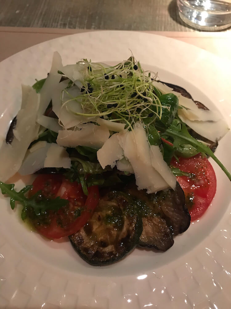 Alma and Korte eggplant salad - Where to eat in Budapest