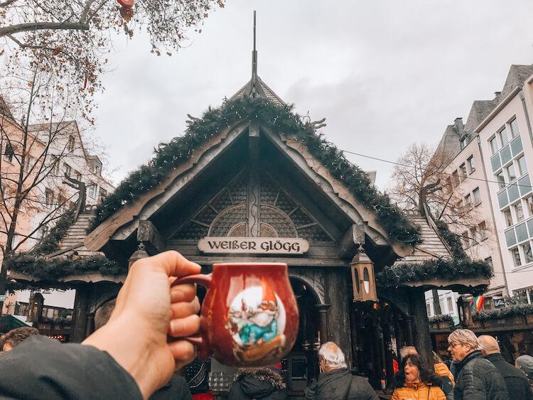 Alter Market with a gnome Christmas mug