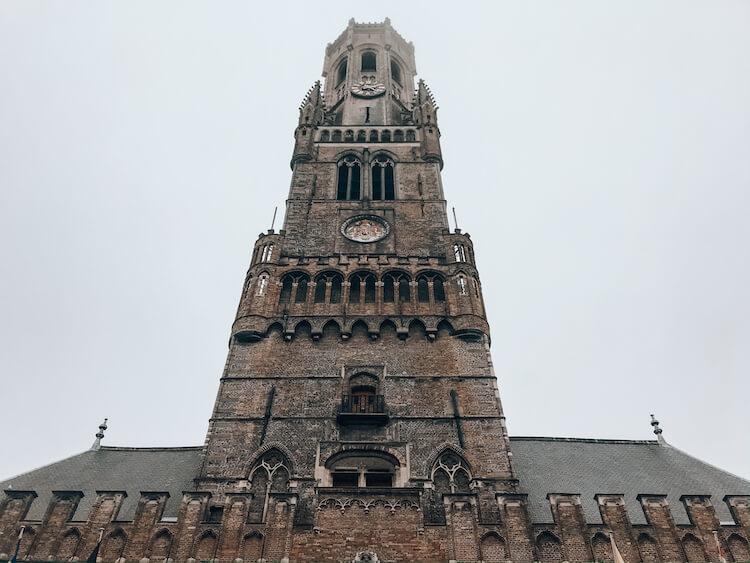 Belfry in Bruges-Things to do in Bruges