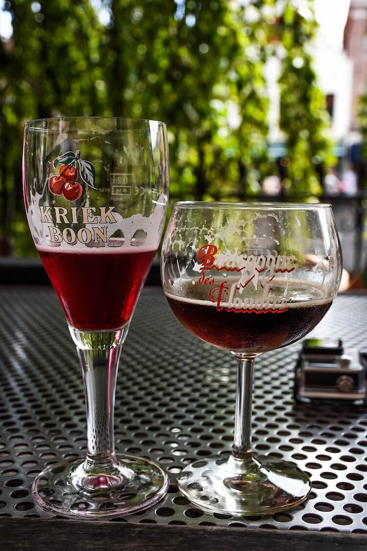 Belgian Red ales and a Belgian Beer Guide