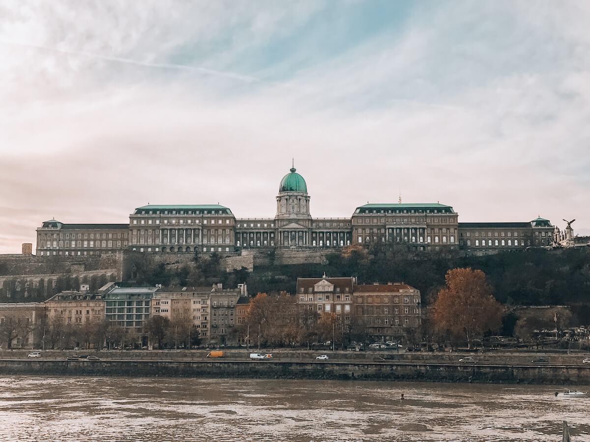 Buda Castle overlooking the Danube