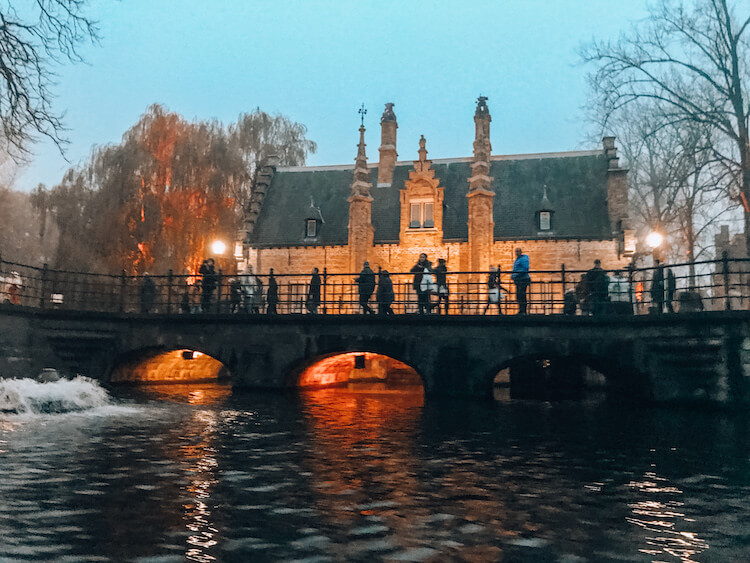 Canals and bridges in Bruges Belgium-Things to see in Bruges