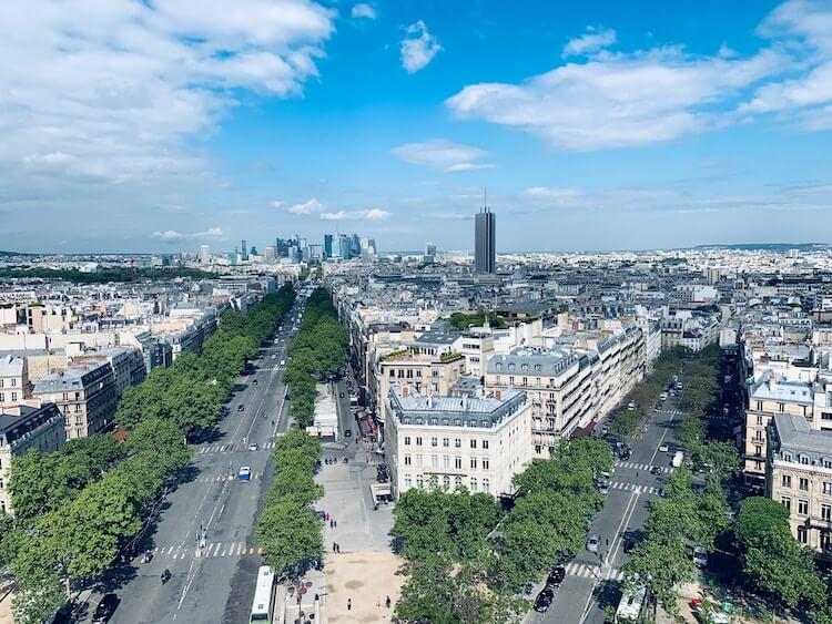 Champes Elysees in Paris- Best Arrondissements in Paris