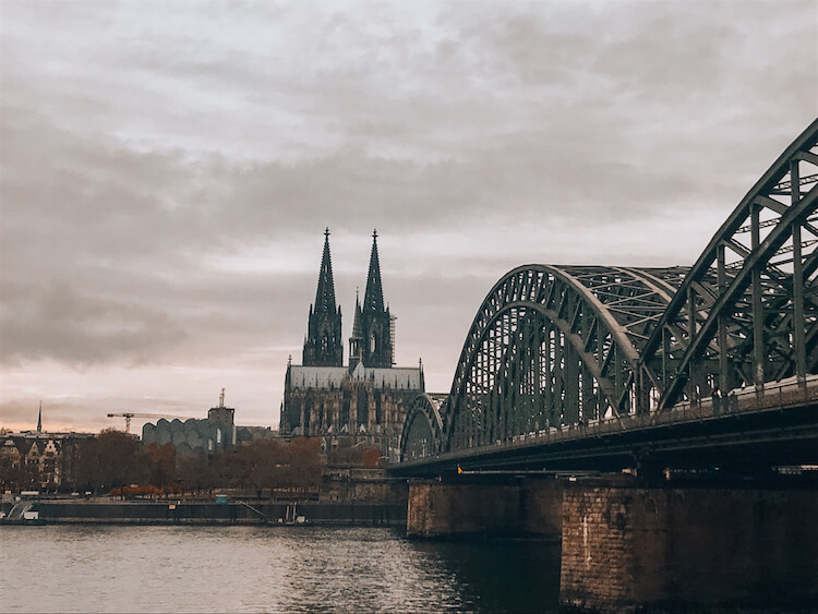 Cologne Cathedral across the Rhine