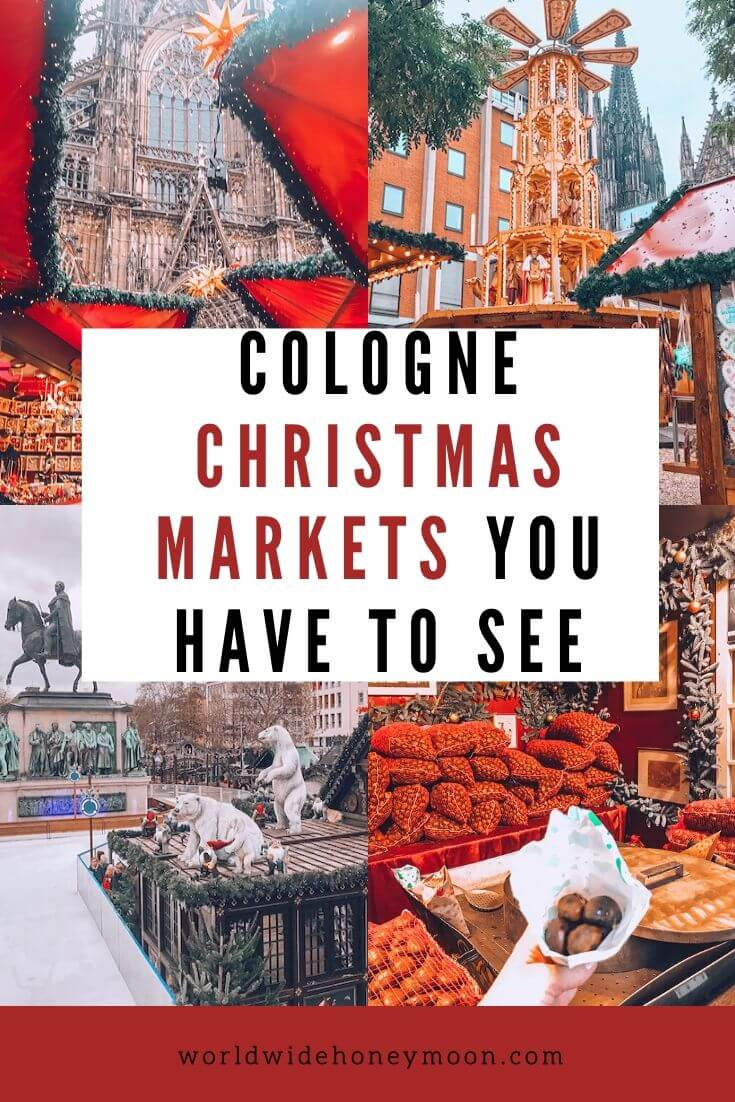 Cologne Christmas Markets You Have to See - Cologne Christmas Market Map