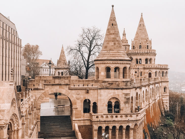 Fisherman's Bastion in Budapest - Top Things to do in Budapest