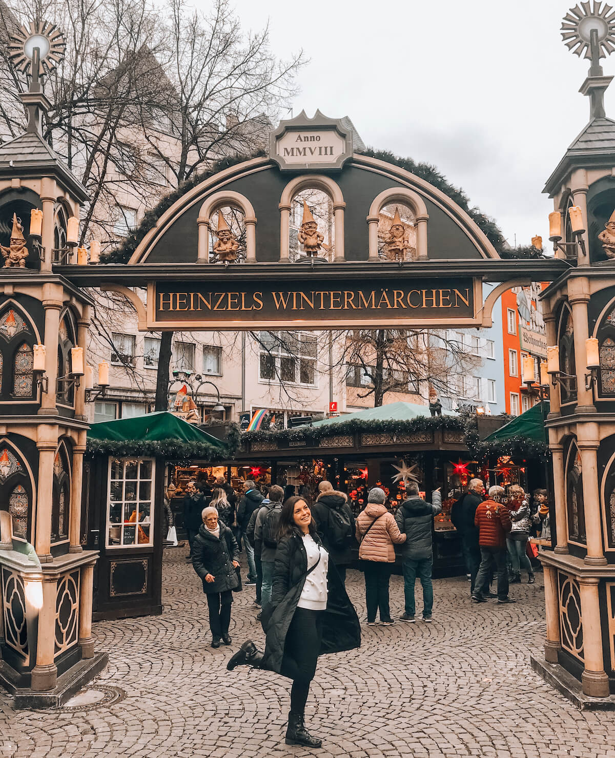 Heinzels Wintermarchen Alter Market in Cologne, Germany
