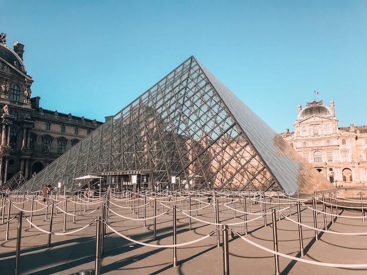 Louvre in the 1st Arrondissement in Paris- Best Arrondissement to stay in Paris for first time visitors