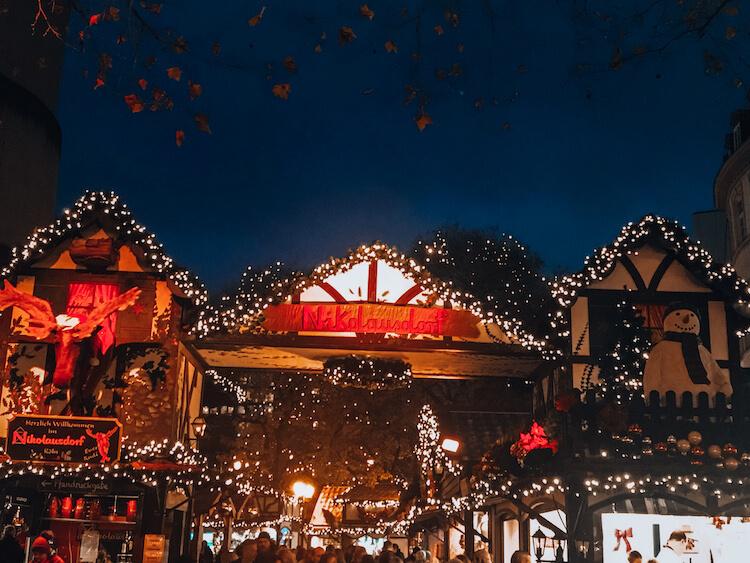 Nicholasdorf Christmas Market in Germany