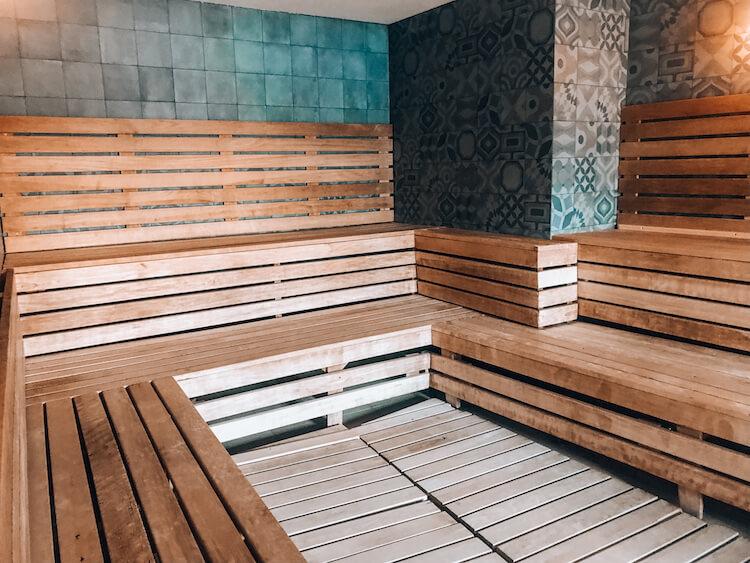 Sauna at Rudas Baths