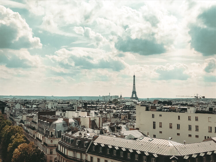 View of Paris skyline during the day- Best arrondissements in Paris