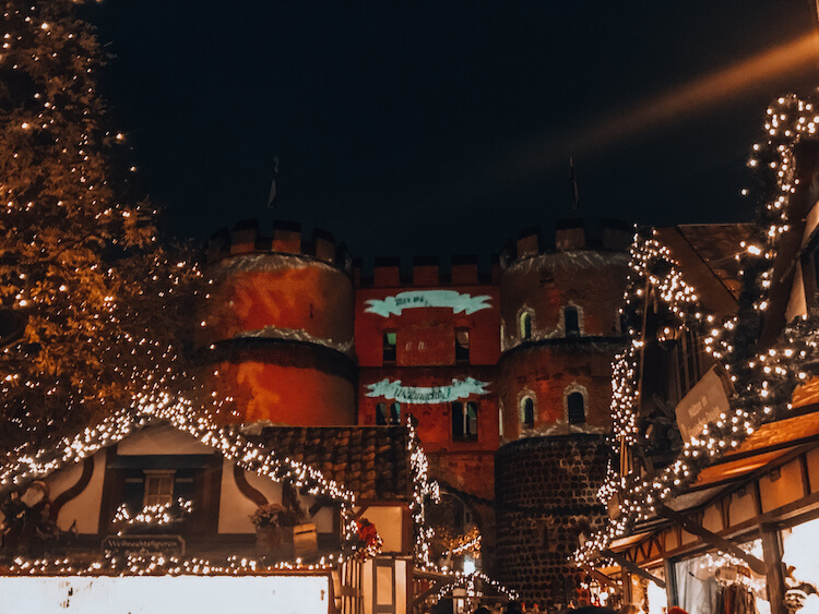 Village of Saint Nicholas Christmas Market in Cologne