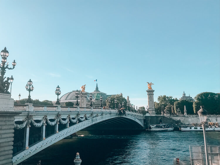 Wandering the streets of Paris along the Seine
