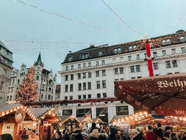 Am Hof Christmas Market in Vienna