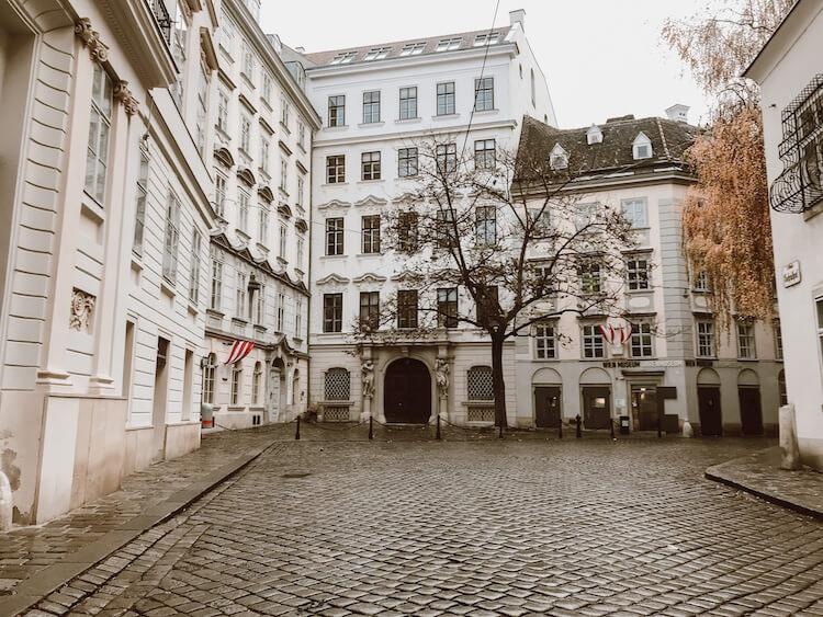 Beautiful streets of Vienna