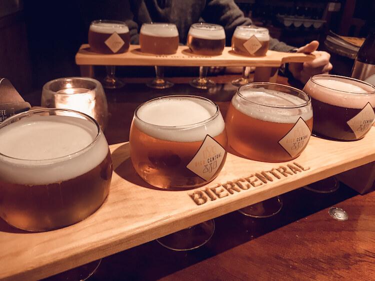 Bier Central in Antwerp- Where to Drink in Antwerp - One day in Antwerp