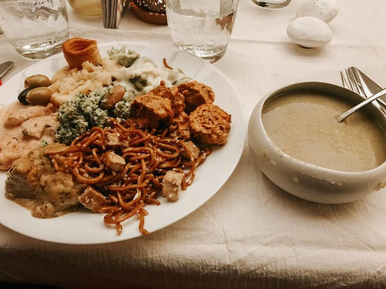 Buffet meal from Rosenoble- Where to Eat in Antwerp