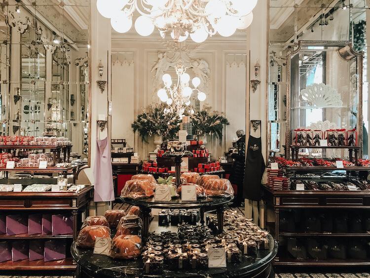 Cafe Demel dessert shop in Vienna
