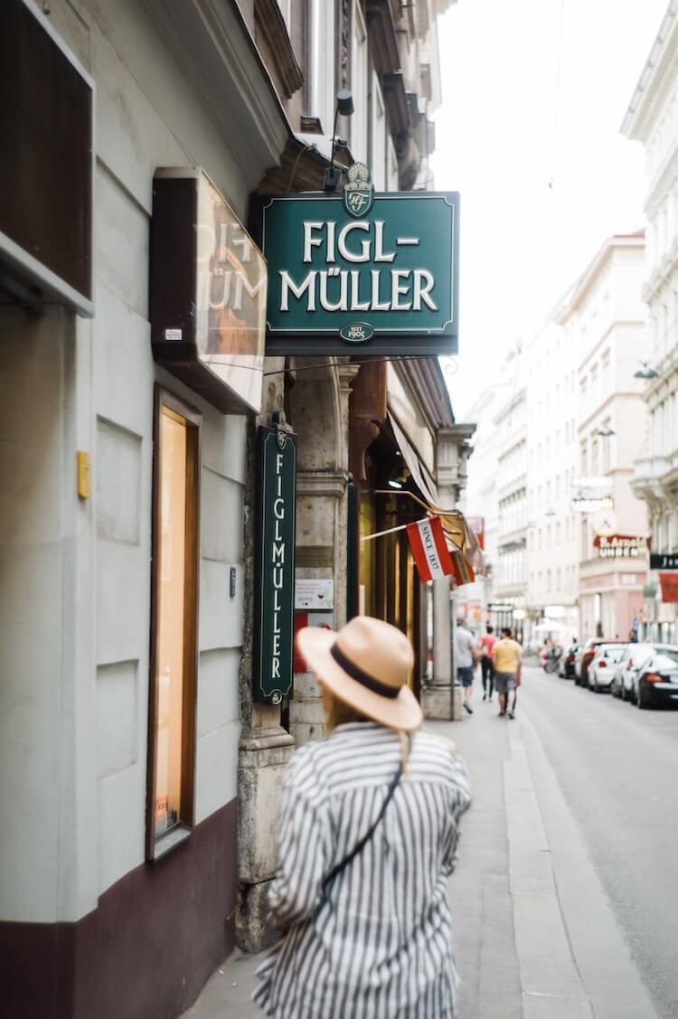 Figlmuller in Vienna- 2 Days in Vienna