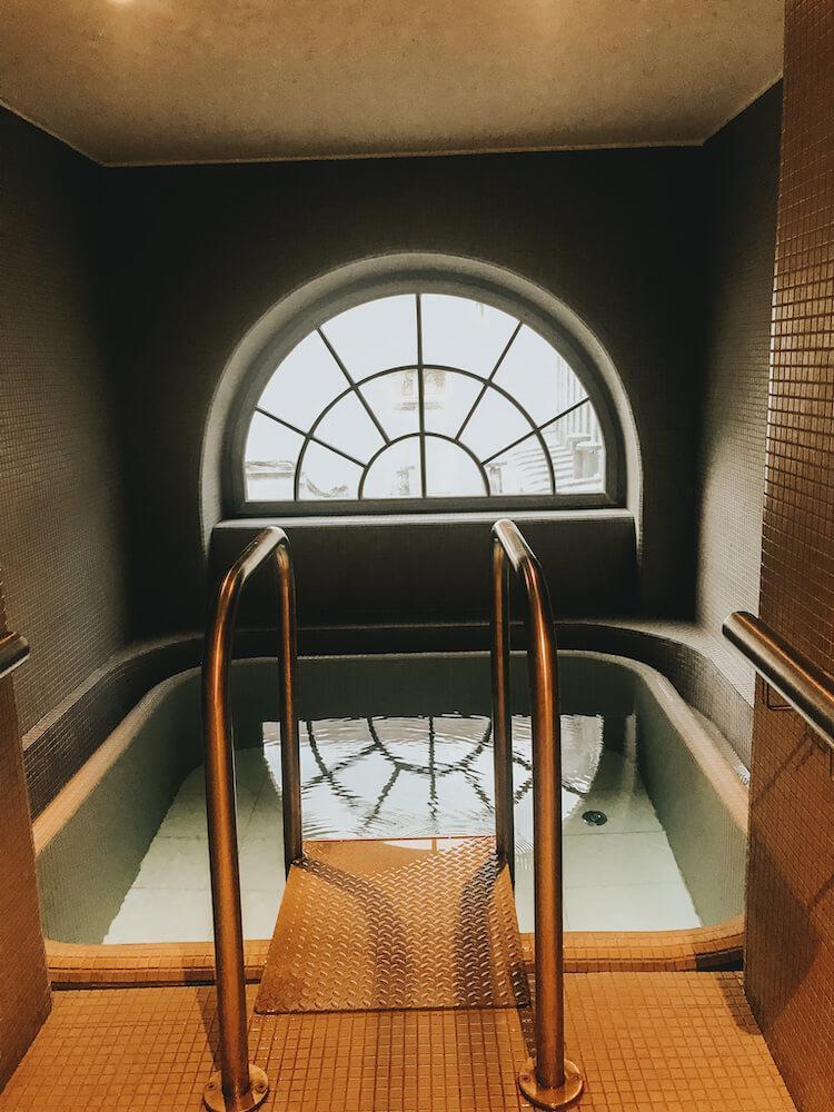 Modern spas at Rudas Baths Budapest