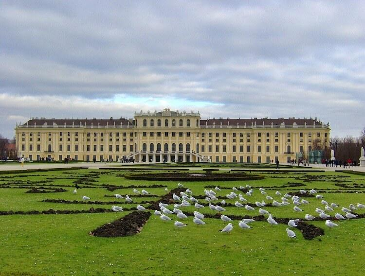 Schonbrunn Palace Visit During 2 Days in Vienna
