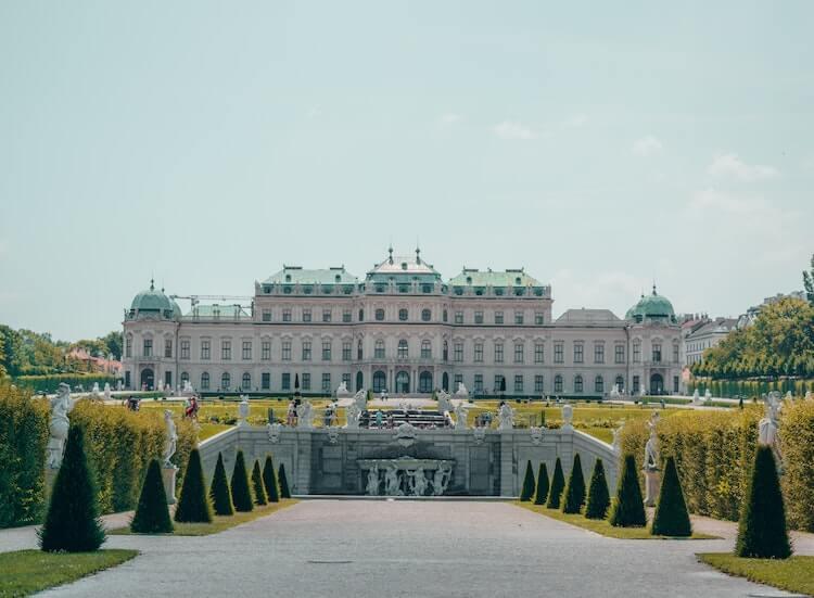 Schonbrunn Palace in Vienna, Austria During a Vienna Itinerary 2 Days
