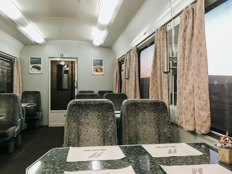 Train to Vienna, Austria
