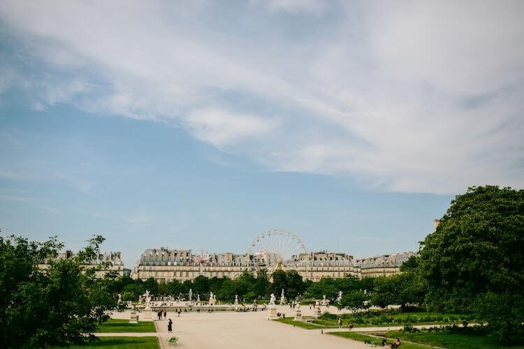 Tuileries Garden in Paris - Paris in a day