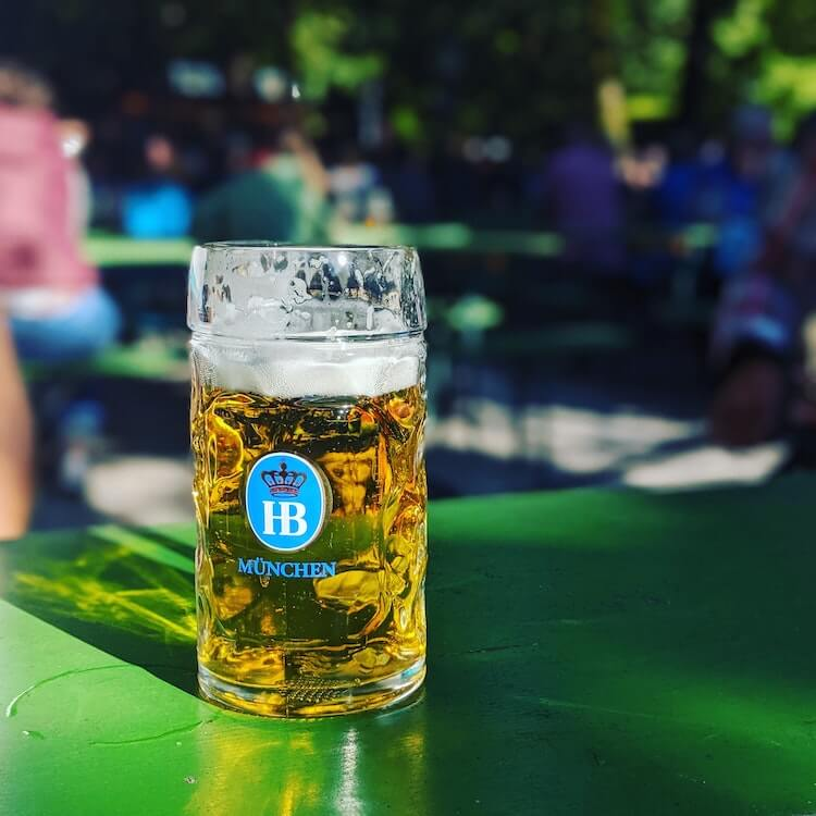 Beer at Oktoberfest, Germany