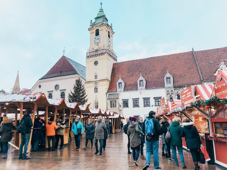 Bratislava Main Square- Bratislava in One Day