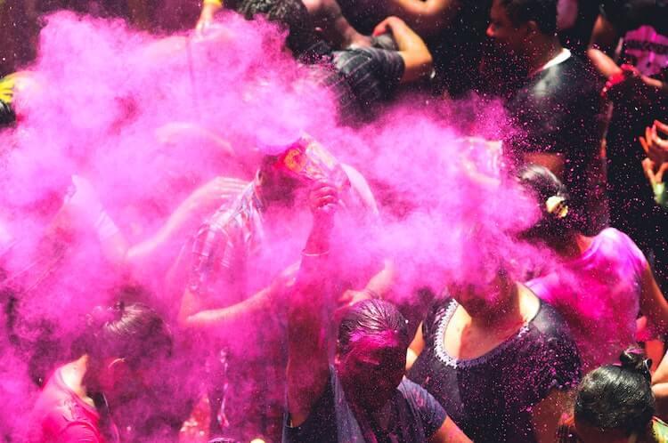 Celebrating Holi in India- Couple's Travel Bucket List