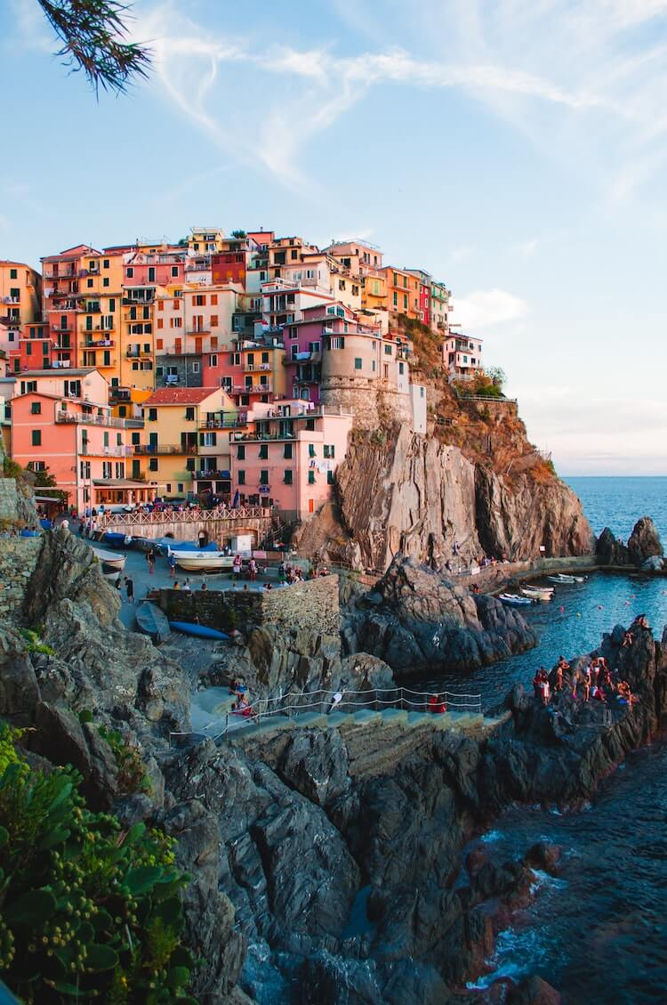 Cinque Terre in Italy- Inspiration Ideas for Staycation Ideas for Couples