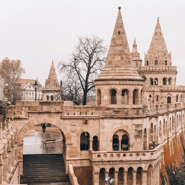 Fisherman's Bastion- 2 Days in Budapest