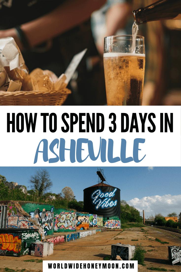 3 Days in Asheville NC | Asheville North Carolina | Asheville NC Things to do | Asheville NC restaurants | Asheville NC Bachelorette Party | Asheville Itinerary#asheville#usatravel#ashevillenc#northcarolina