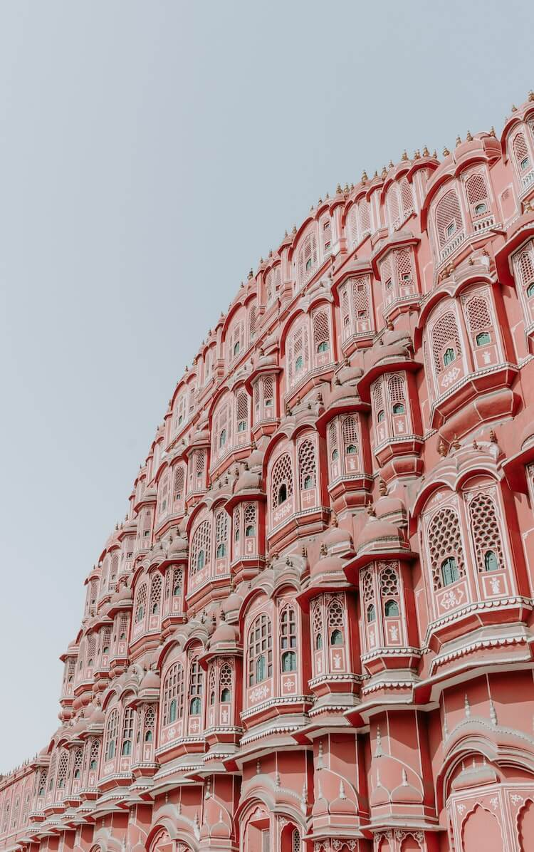 Jaipur pink buildings