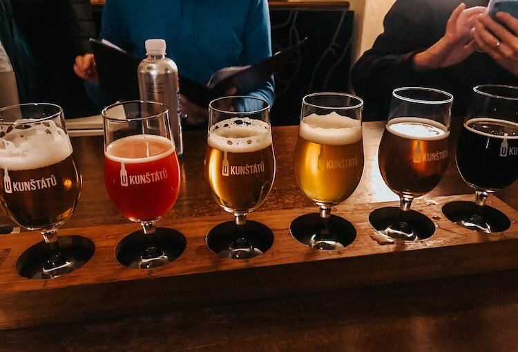 U Kunstatu Brewery in Prague- Where to Drink in Prague